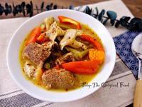 泰式綠咖哩牛肉(湯咖哩版)
