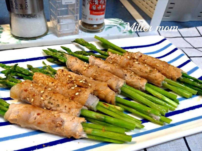 香煎蘆筍豬肉捲~中秋烤肉款