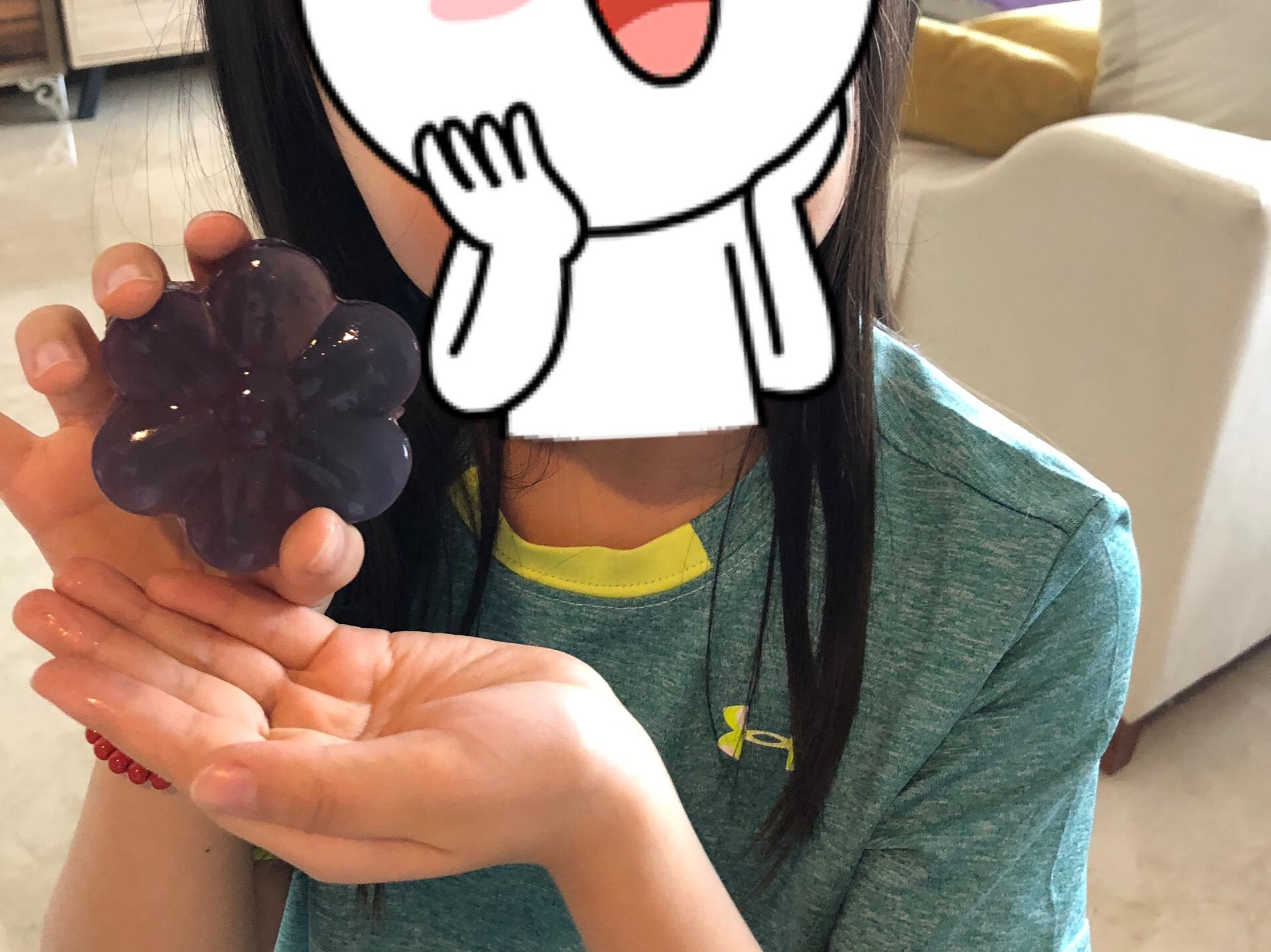 蝶豆花水晶果凍(寒天、菜燕)