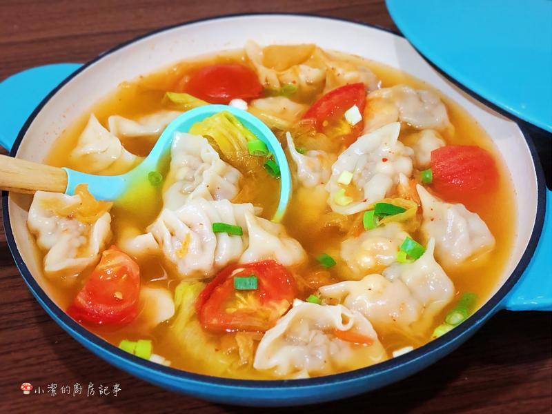 舞菇豬肉湯餃 - 好菇道營養料理