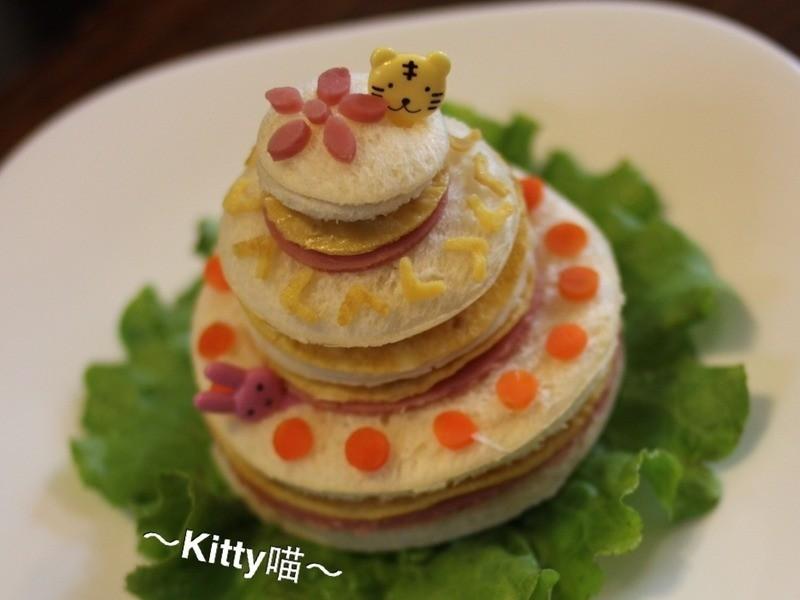 Kitty喵-吐司蛋糕