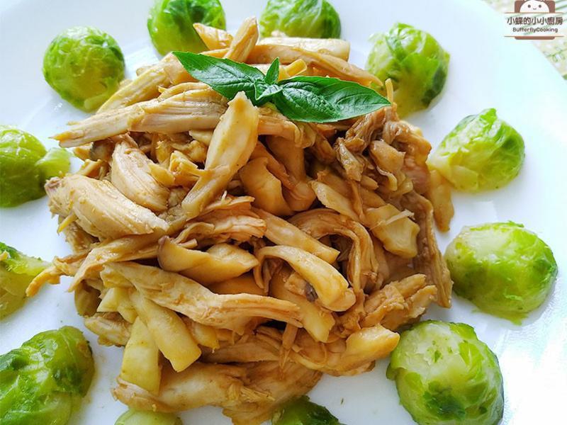 三杯雞絲炒菇絲〞祭拜三牲雞變化料理