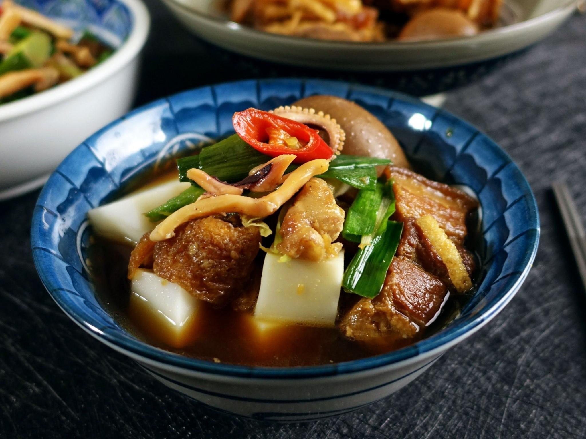 家傳菜 傳統粿仔湯