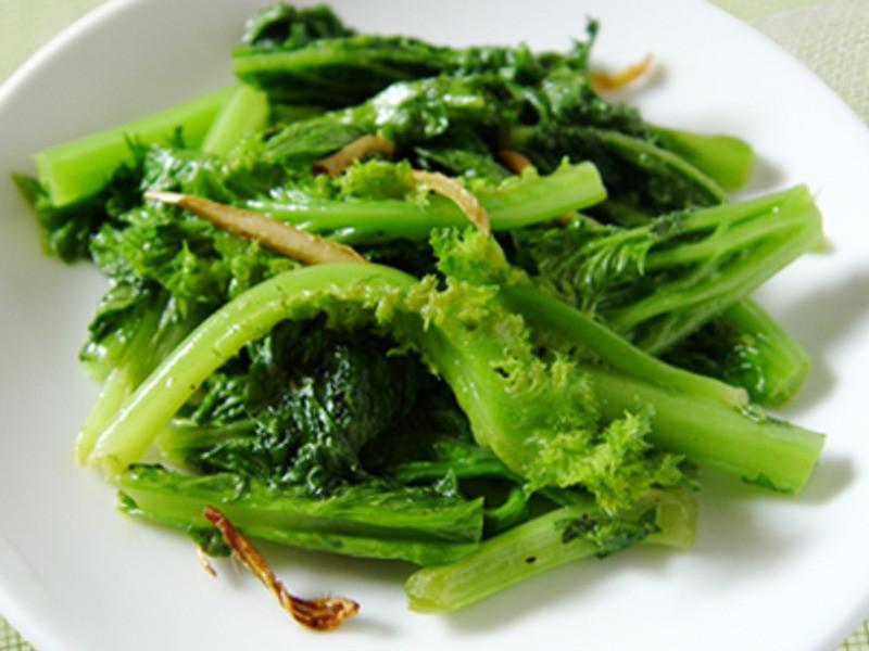 【厚生廚房】清炒沙拉芥菜