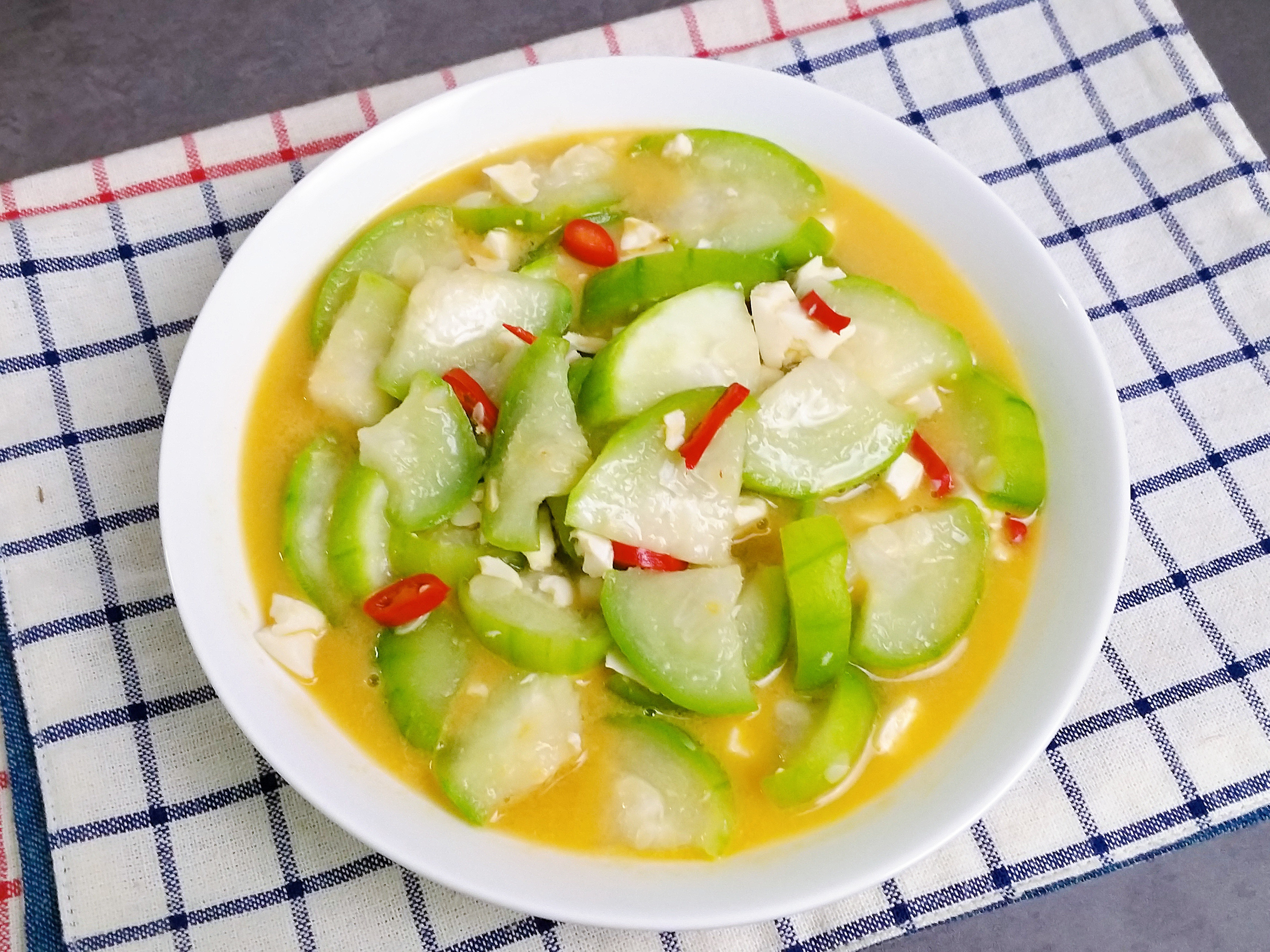 鹹蛋煮絲瓜