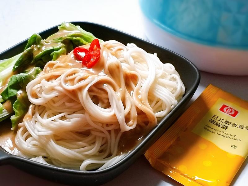【桂冠日式醇香焙煎胡麻醬】拌細關東麵
