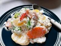 田園白醬蔬菜燉飯~桂冠義式濃郁起司凱薩醬