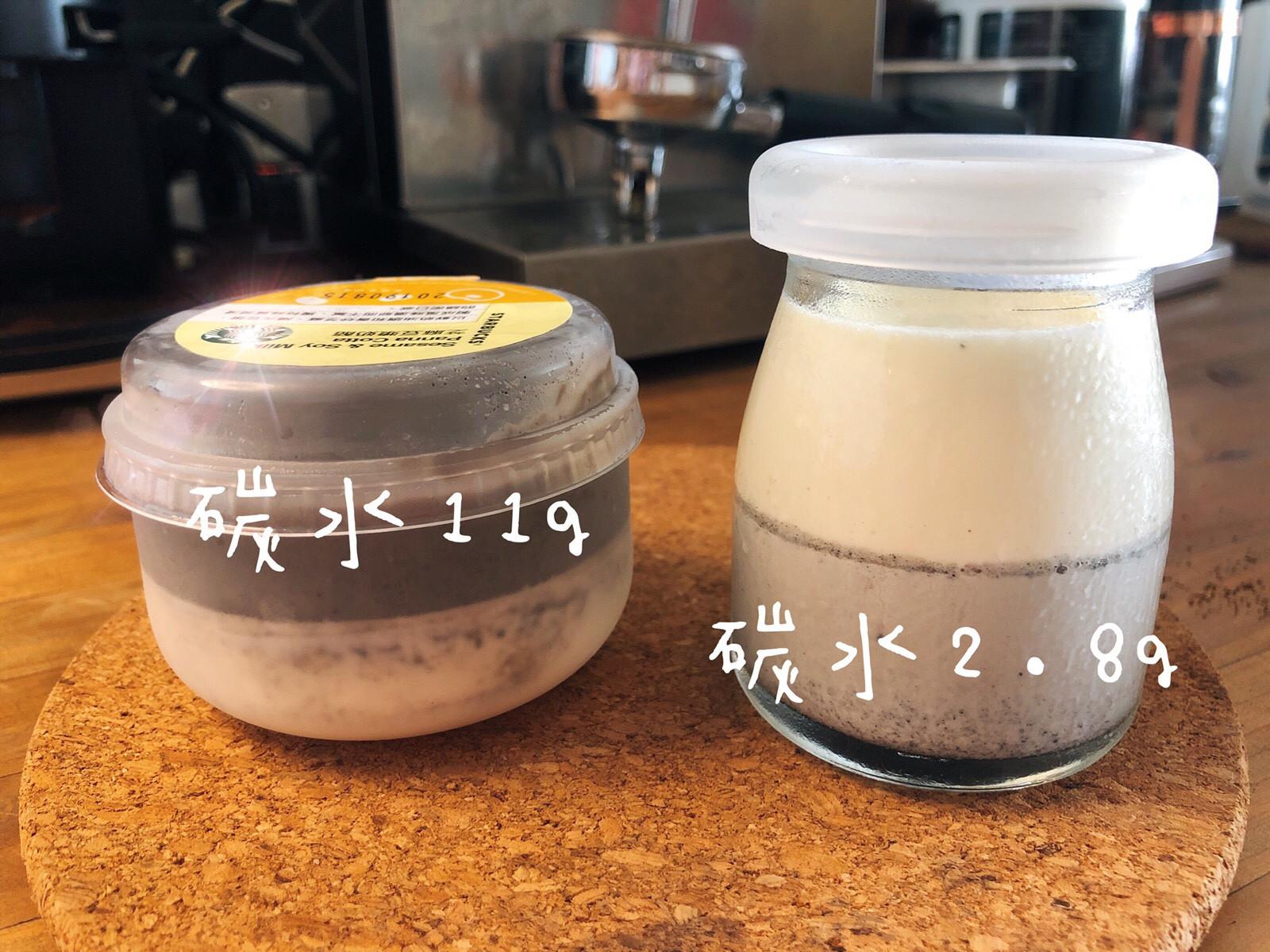 低醣點心-芝麻豆奶酪