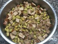 毛豆炒豆干絞肉