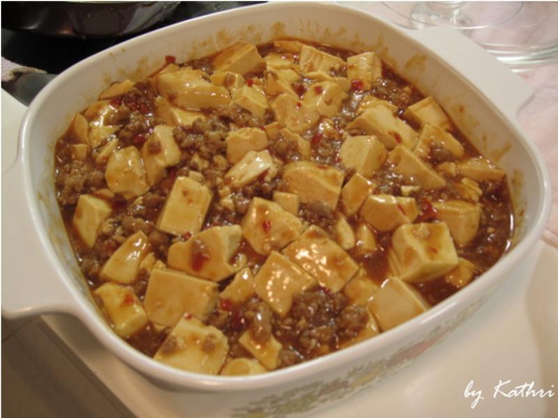 麻婆豆腐【卡特莉的晚餐】