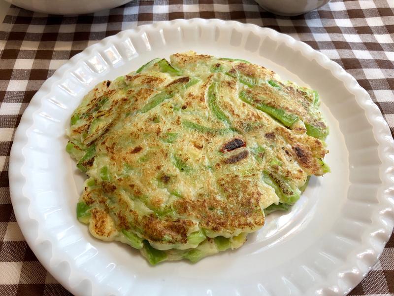 絲瓜玉米筍煎餅