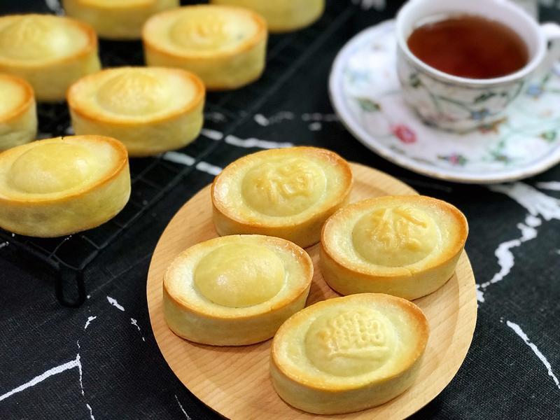元寶造型鳳梨酥(不走鍾、萬用餅皮配方)