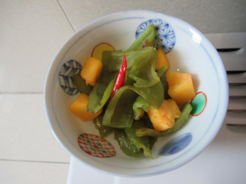 尖椒鮮黃桃