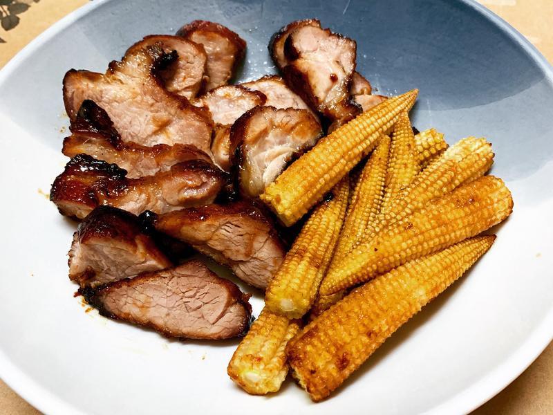 氣炸鍋也能做出好吃的蜜汁叉燒肉