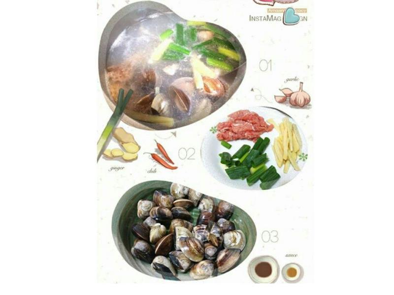 蛤蜊肉絲湯