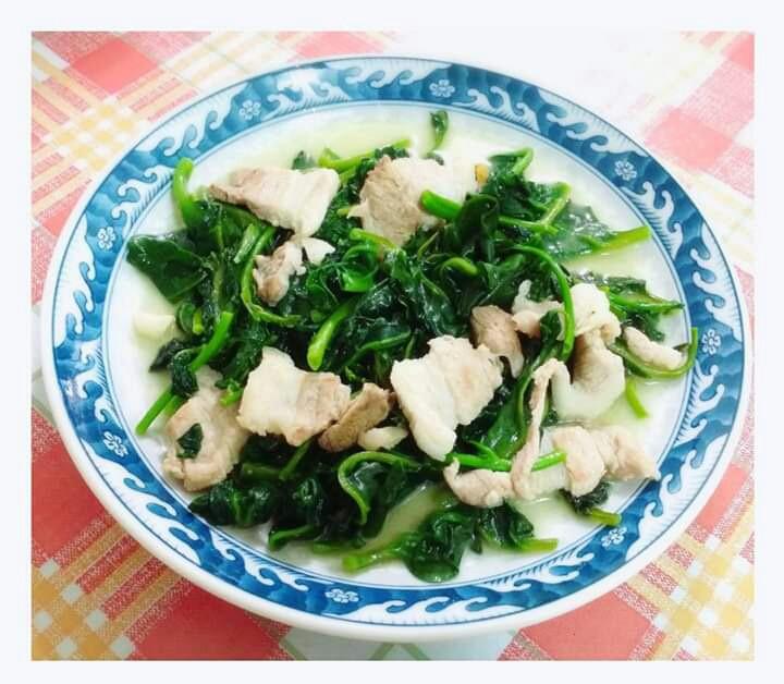 皇宮菜炒五花肉