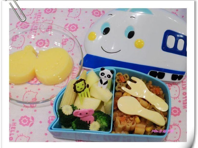 【親子食堂】義大利肉醬麵麵餐盒