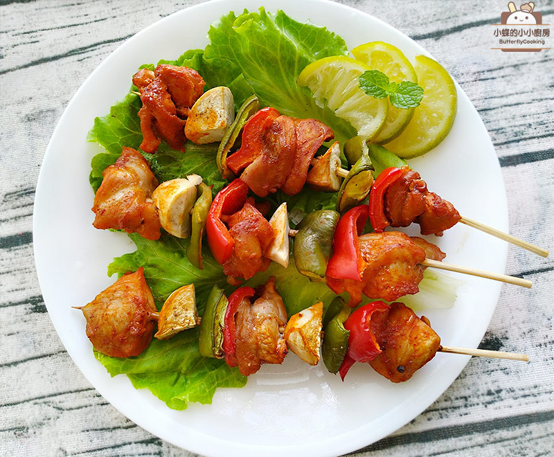 韓式辣醬雞肉串烤
