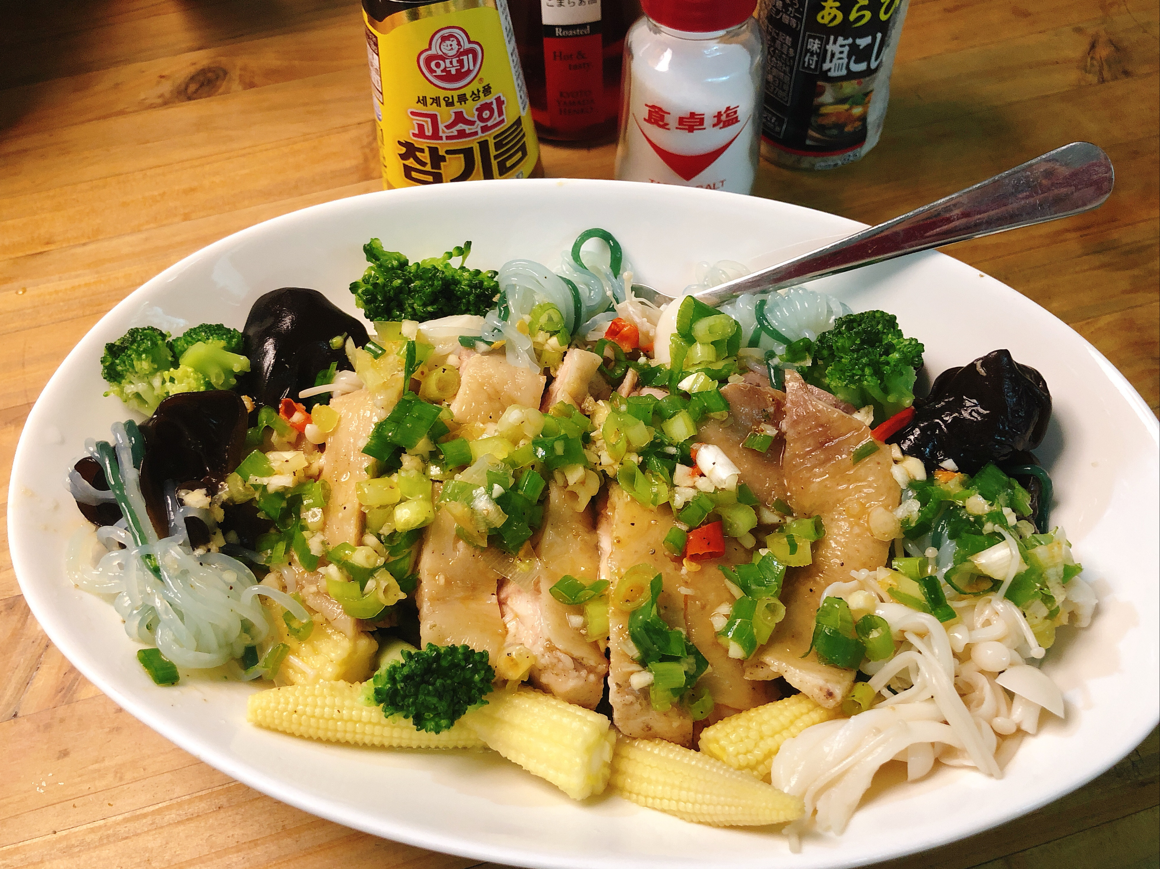 低醣廚房-椒香鹽水雞