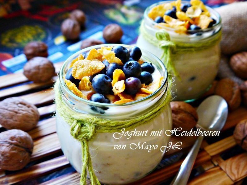 藍莓燕麥優格杯