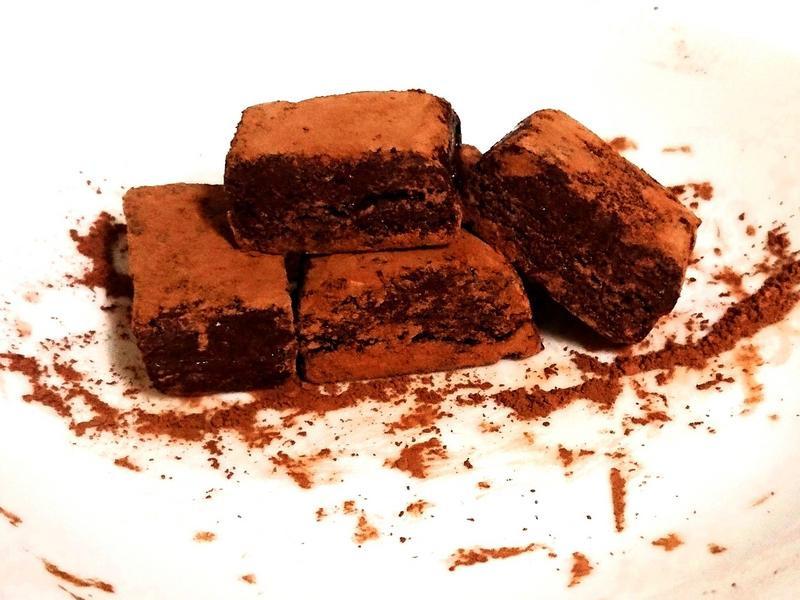 高蛋白松露巧克力😚
