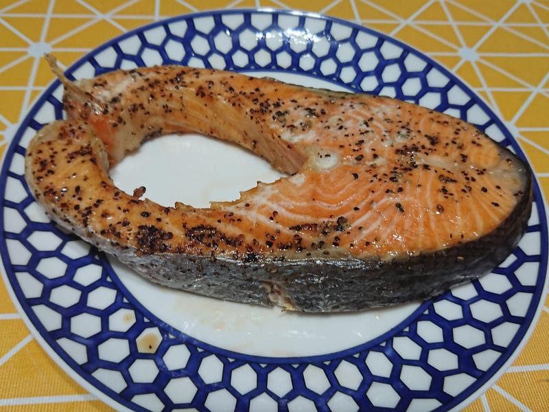 科帥氣炸鍋-氣炸鮭魚