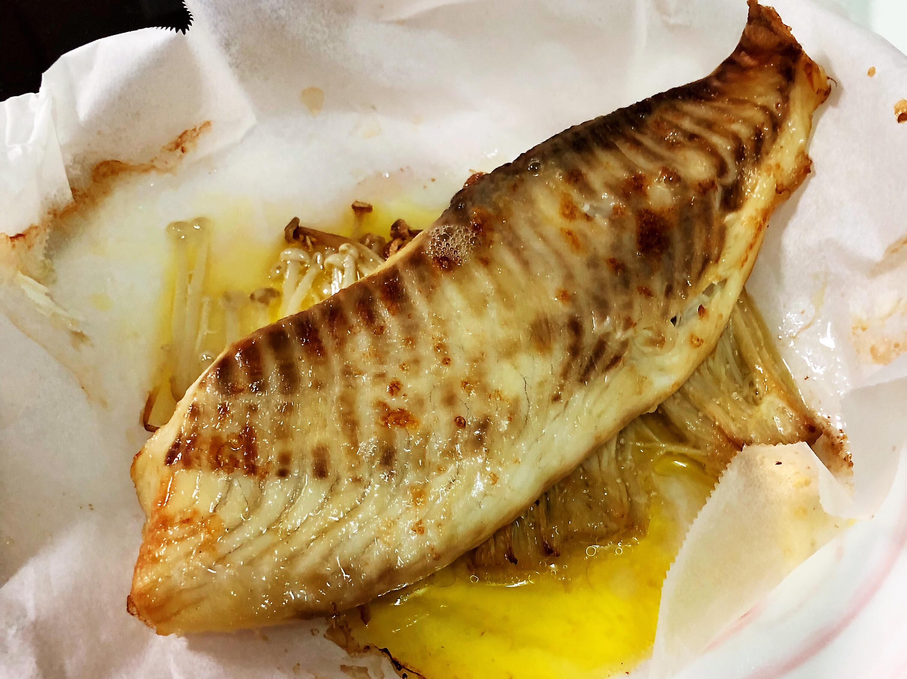 低醣生酮·奶油金針菇鯛魚☀️飛利浦氣炸鍋