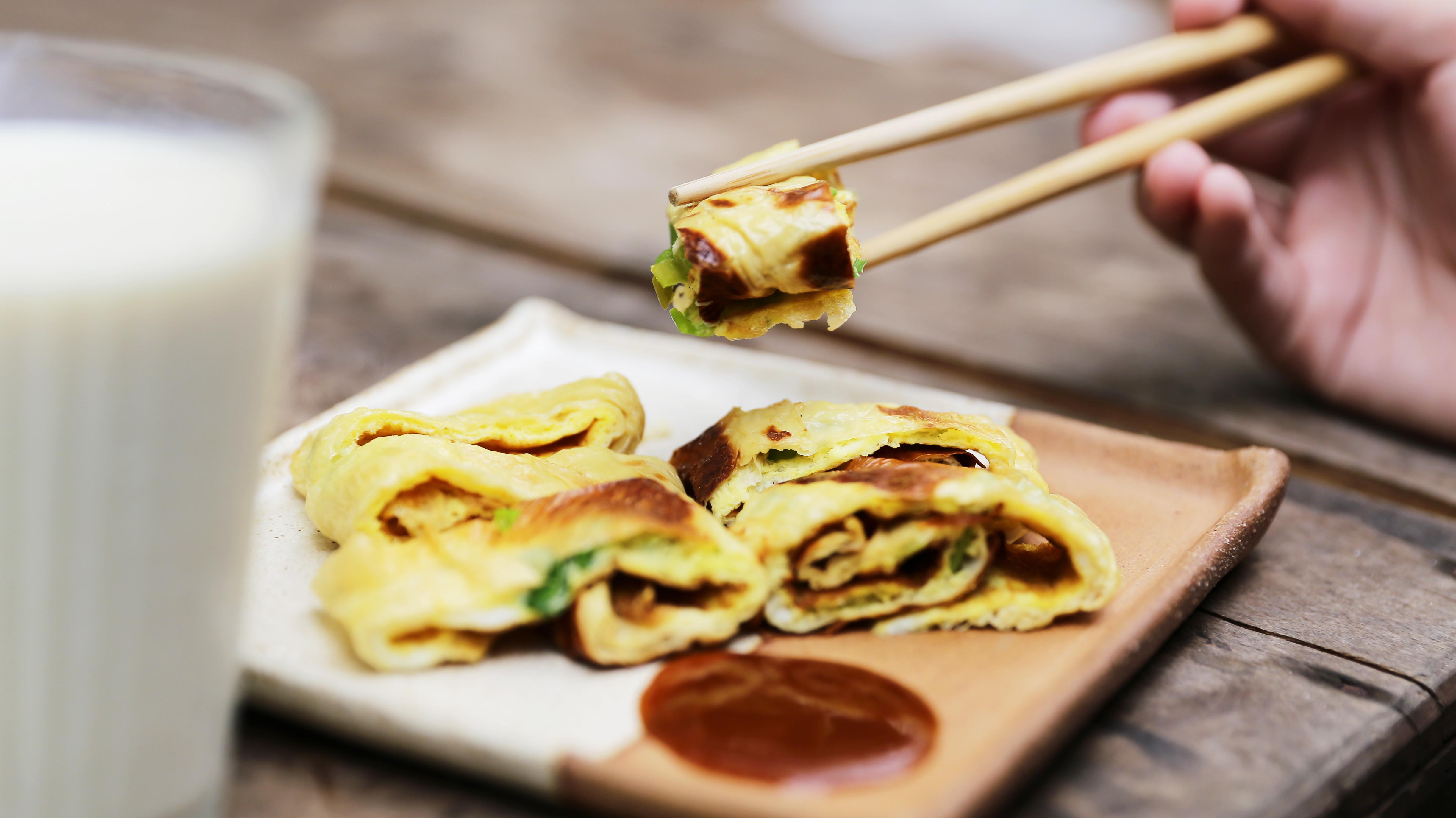 豆皮蛋餅 禾乃川小廚房
