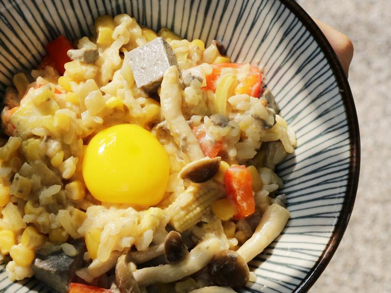 蔬菜豆腐豆漿燉飯 禾乃川小廚房