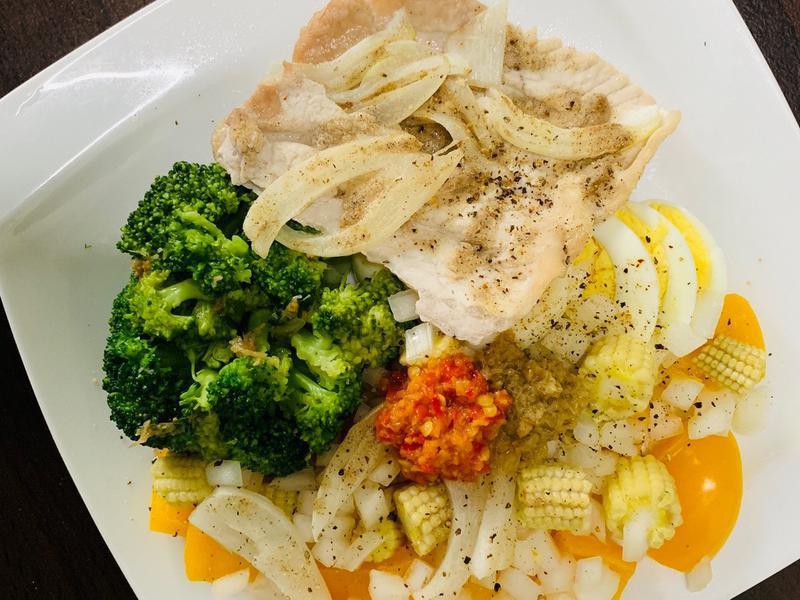 早餐:低脂豬肉蔬食(電鍋、烤箱)生銅飲食