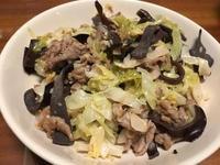 酸高麗菜炒肉絲