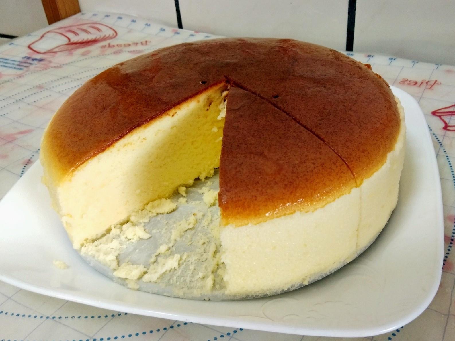 輕乳酪蛋糕(自製鏡面果膠)