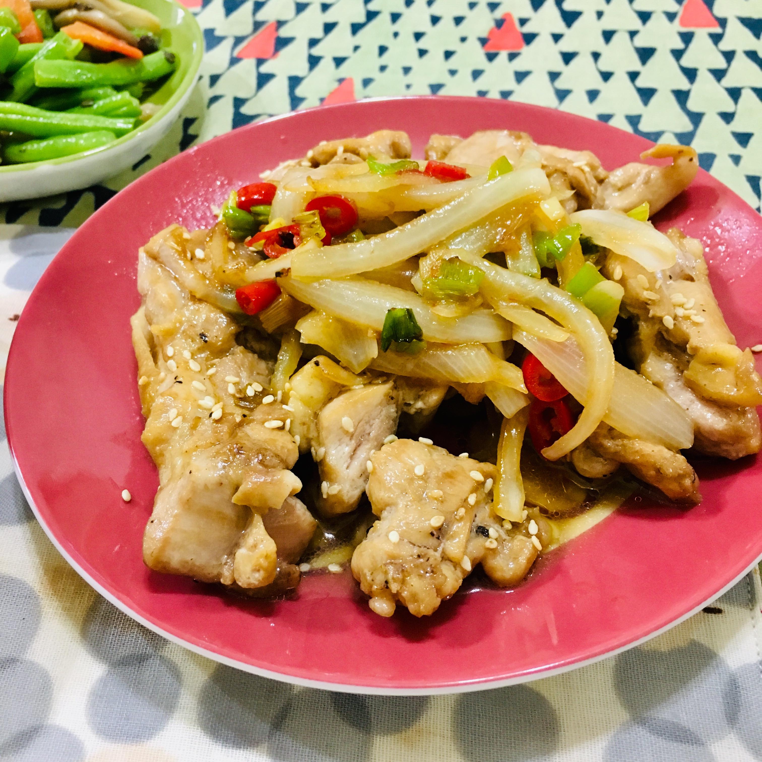照燒醬汁雞肉