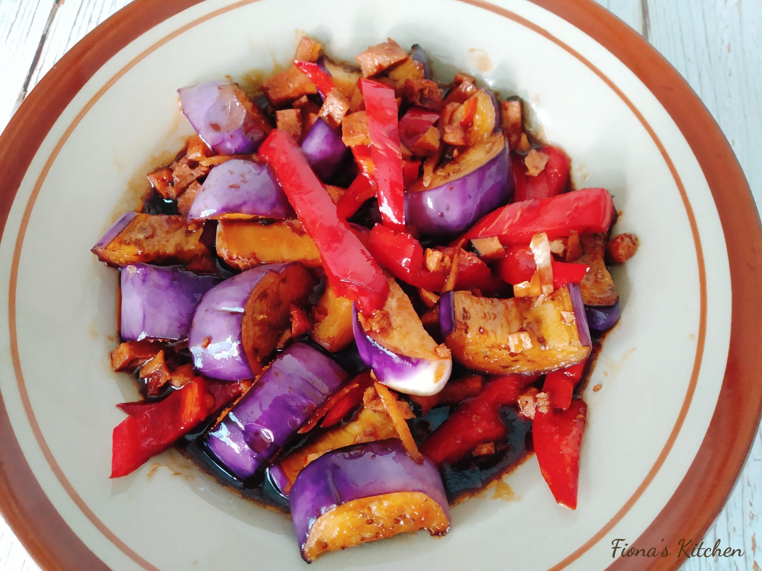 純素魚香茄子