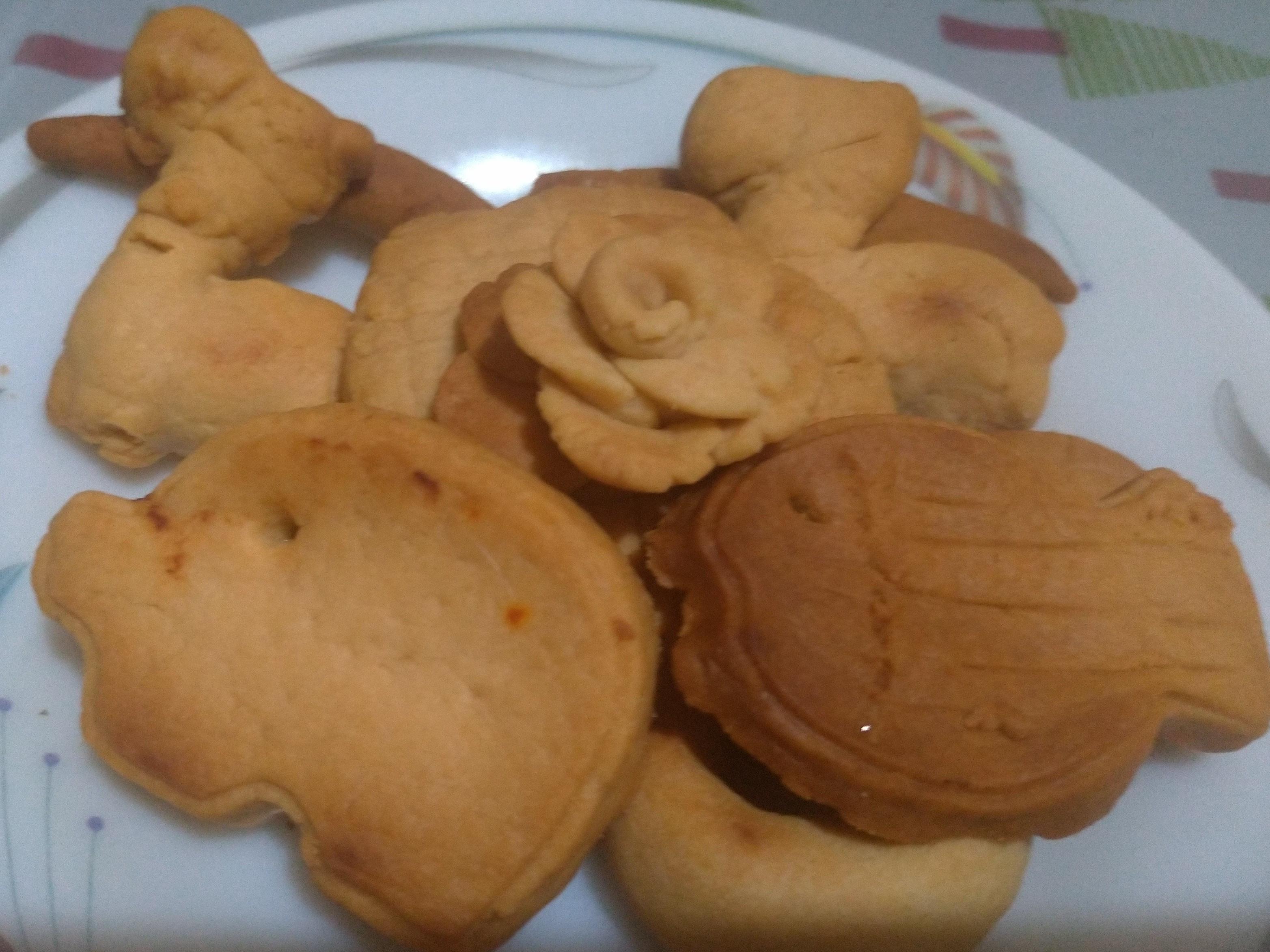 親子手工餅乾