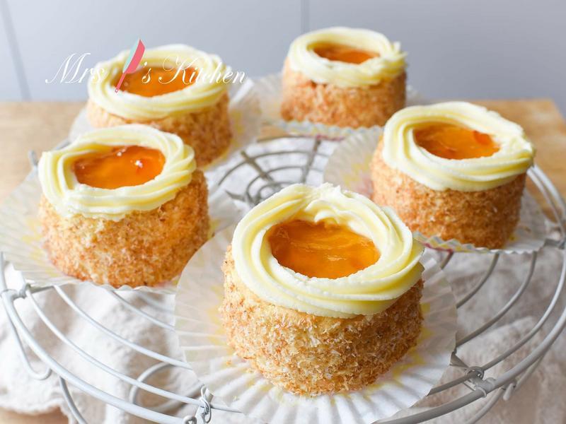 【影片】黃梅果醬小蛋糕