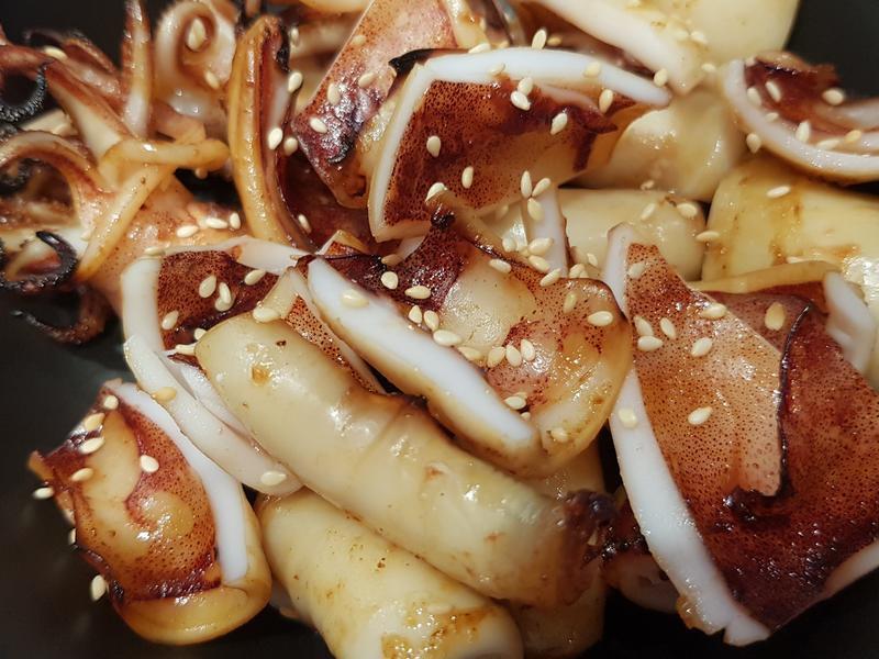氣炸鍋蜜汁小卷