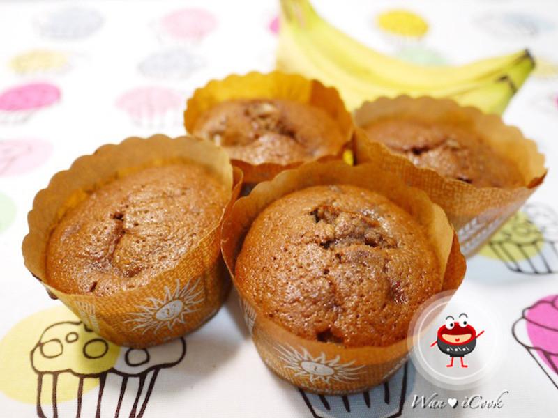 """♡宛の烘培好""""食""""光 ✿ 香蕉巧克力磅蛋糕(烤箱版)"""