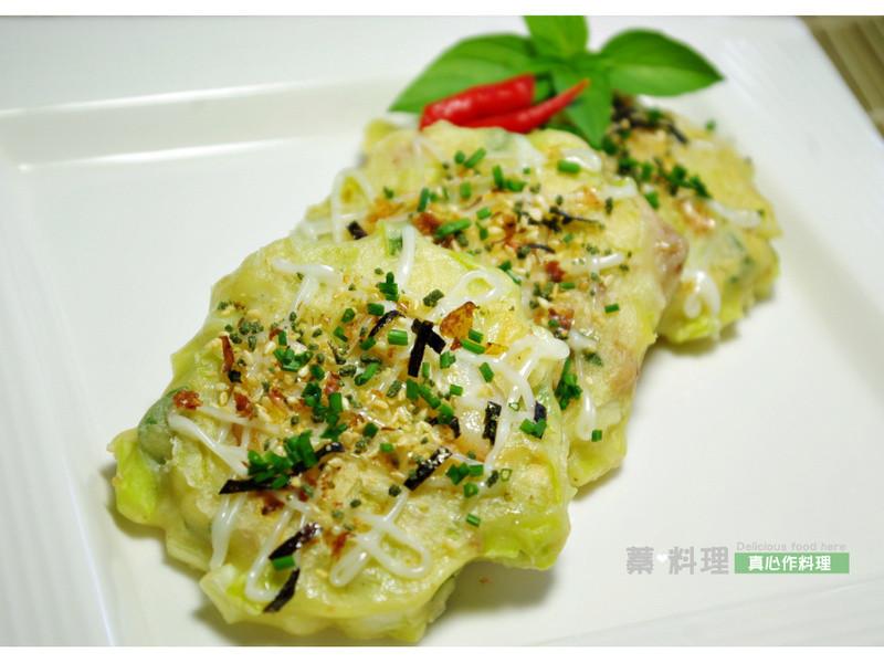 韭黃海鮮煎餅