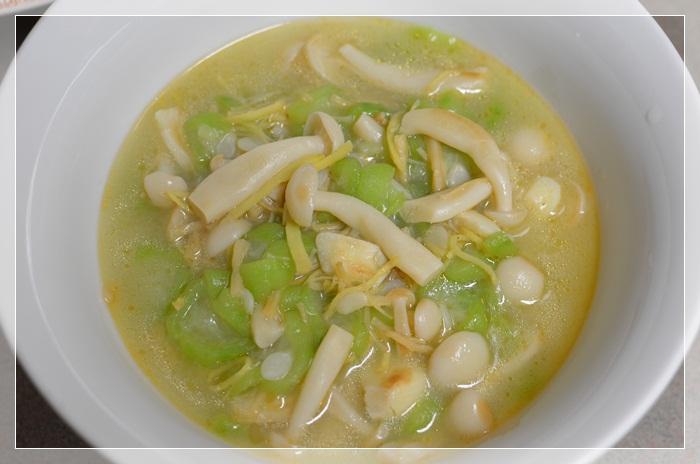 [四季江戶味之秋季料理]-干貝雪菇燴角瓜