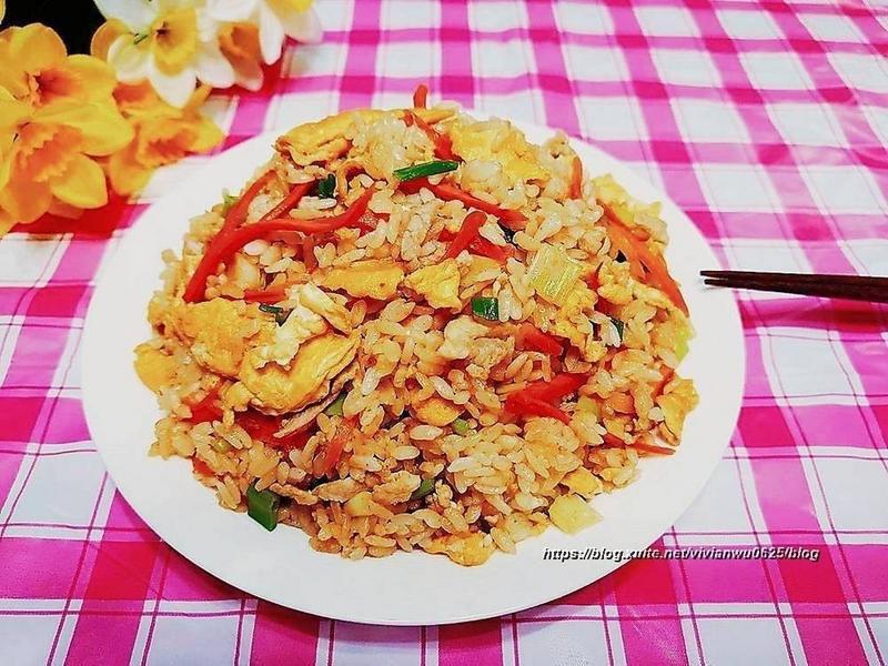 家常菜~蛋炒飯