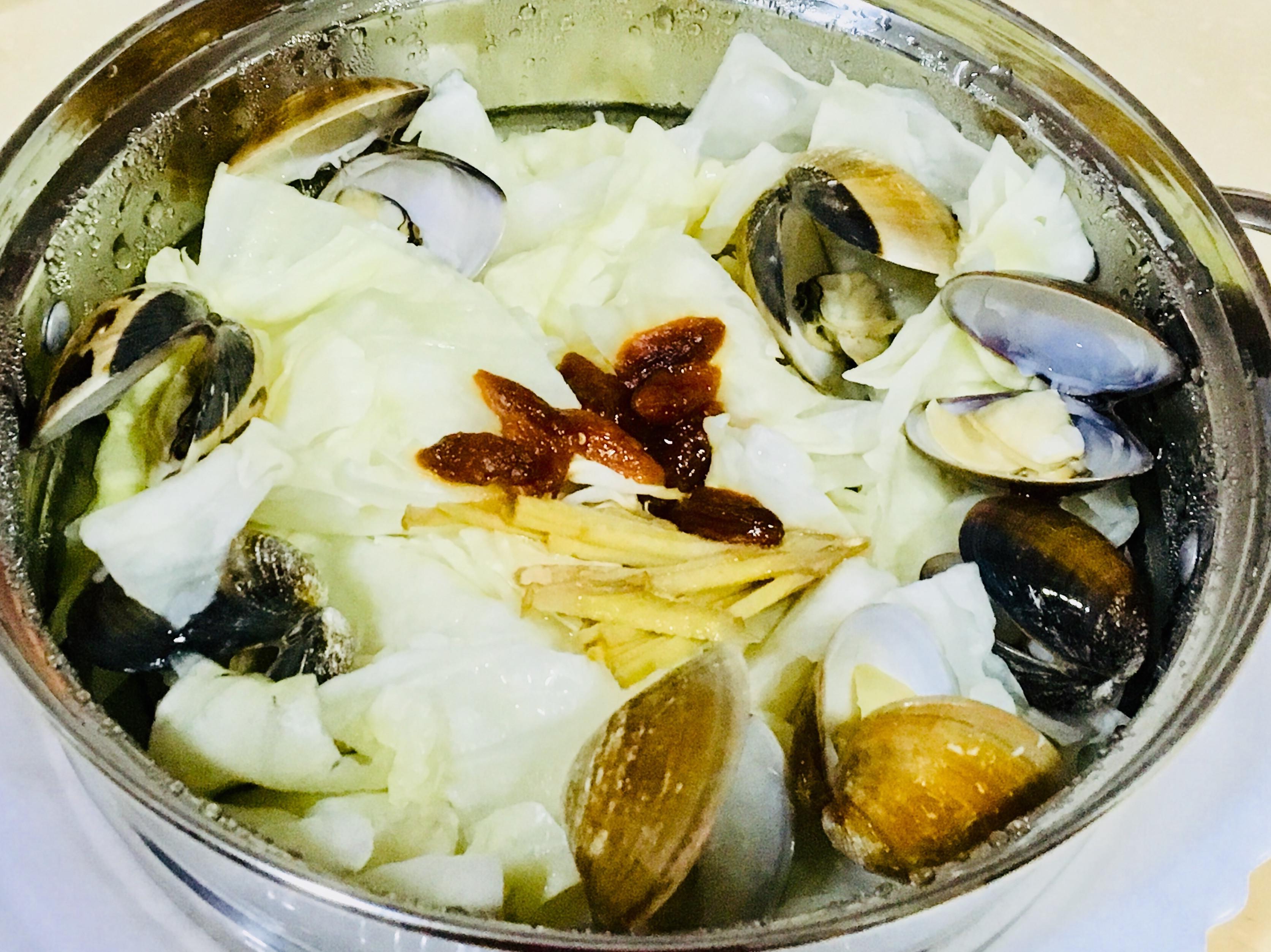 清蒸蛤蜊高麗菜(快煮鍋)
