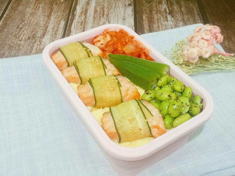 鮭魚黃瓜卷