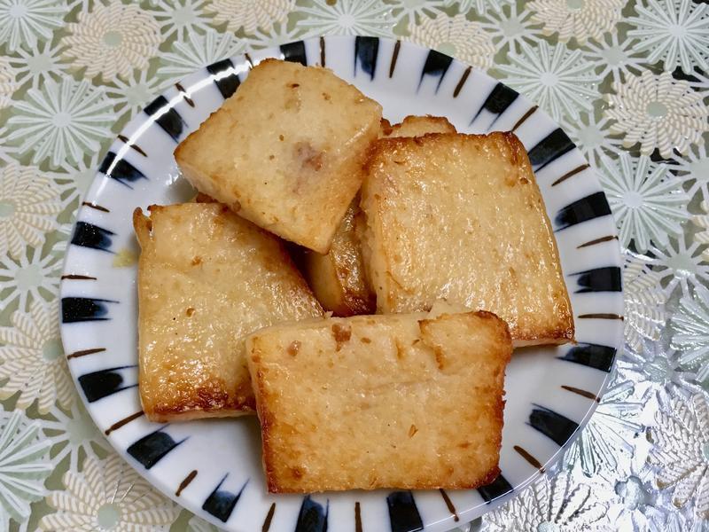 氣炸鍋早餐:港式蘿蔔糕