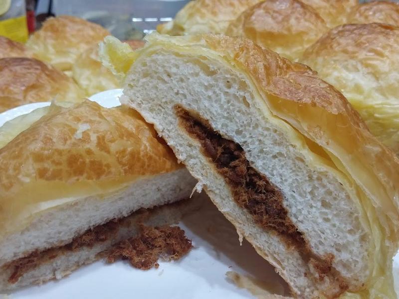 起酥麵包-肉鬆口味 白神酵母
