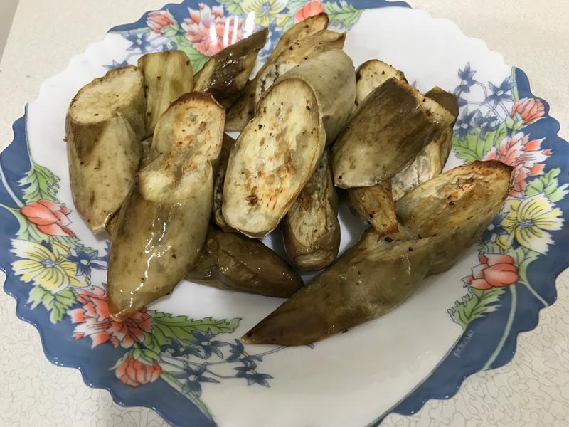 氣炸鍋料理-炸茄子