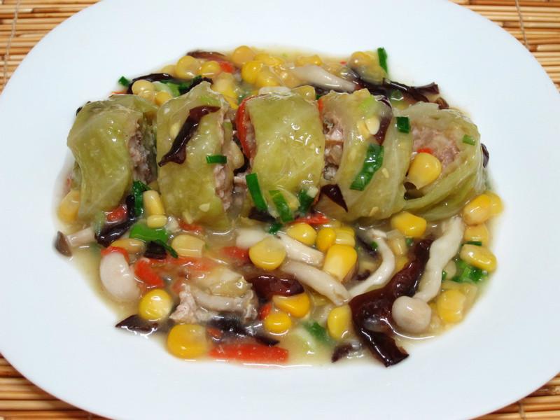 菇菇蔬菜捲