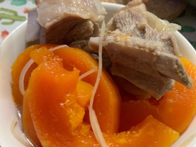 懷念的味道:木瓜排骨湯