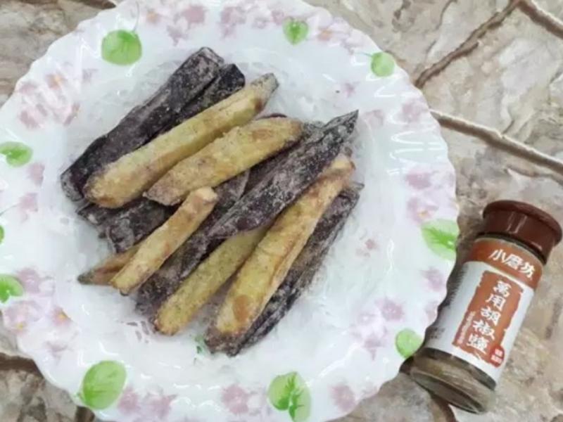 鹽酥地瓜條~中華二店-2氣炸鍋