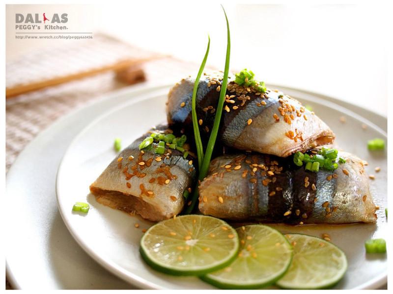 【四季江戶味之秋季料理】《Peggy廚房》蒲燒薑汁秋刀魚